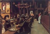 Café en Montmartre (1890), de Santiago Rusiñol.