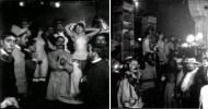 Dos instantáneas del baile de Quat'z'Arts de 1897.
