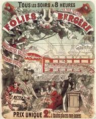 Cartel de propaganda de Cheret.