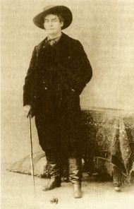 Aristide Bruant hacia 1885.
