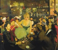 En el Mirliton (1886), óleo de Louis Anquetin.