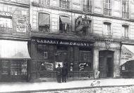 Fachada del Mirliton, en el número 84 del bulevar Rochechouart (antiguo local que hasta entonces había albergado Le Chat Noir.