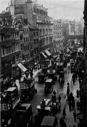 Londres en 1900.