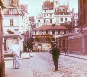Montmartre en 1895.