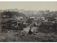 Vista desde la calle Champlain, en Ménilmontant, sobre 1877. F: Charles Marville.