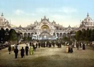 Palacio de la torre de electricidad y castillo de agua. París, Exposición Universal de 1900.