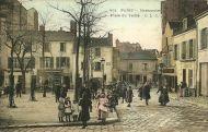 La plaza Du Tertre en 1900.