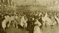 Baile en el Moulin Rouge en 1898.