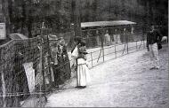 """Aldea negra"". Exposición Universal de París de 1889."