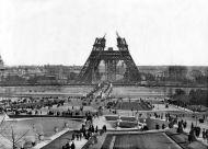 El Campo de Marte y la torre Eiffel a la llegada de Samuel en 1888.