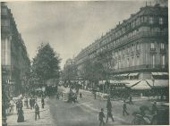 Gran Hotel Intercontinental junto al Palacio de la Ópera sobre 1890.