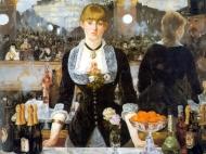 """""""Un bar del Folies Bergère"""" (1881), óleo de Édouard Manet."""