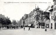 Bulevar de Clichy, Moulin Rouge.
