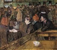 Baile en el Moulin de la Galette (1889), de Toulouse-Lautrec.