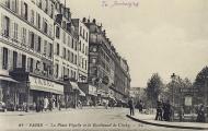 Bulevar de Clichy, plaza Pigalle.