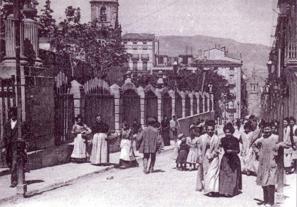 La Glorieta a principios del siglo XX.