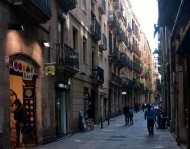 Calle Dels Tallers (casa de La China).