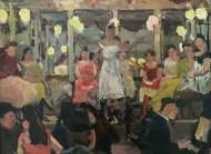 "Café de Levante. ""Café cantante"" (ca. 1893). Isaac Israels."