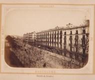 Barcelona 1874. Rambla dels Estudis.