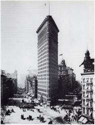El Flatiron en 1902.