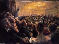 "Metropolitan Opera House. ""Concert in the Opera House Max"" (1921), oleo de Max Liebermann."