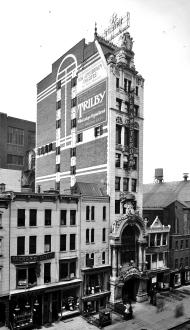 El New Amsterdam Theatre en 1905.