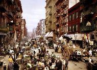 Mulberry Street (Nueva York) en 1900. / Library of Congress (Washington)