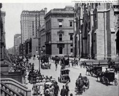 La Quinta Avenida desde la calle 49, 1905.