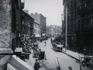 Curva de la calle Mulberry (Mulberry Bend). Jacob Riis, 1890.