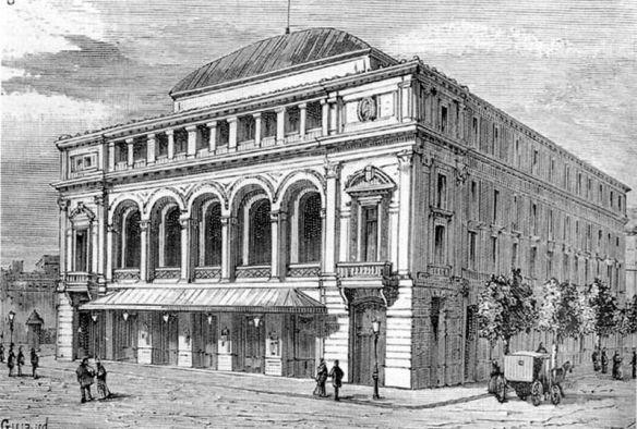 Le Théâtre Lyrique - Théâtre des Nations, place du Châtelet.