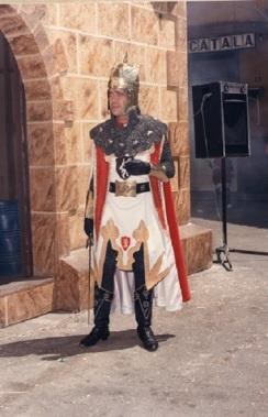 Manuel Cerdà, preparado para entrar en combate.