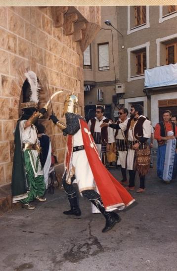 Manuel Cerdà en plena lucha para ocupar el territorio que poblaban los árabes y construir la gran patria valenciana.