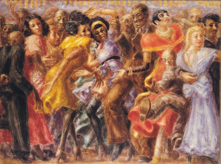 harlem-tuesday-night-at-the-savoy-1936-lienzo-de-reginald-marsh