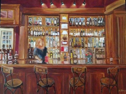 Lambertville House Bar