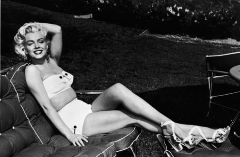 Marilyn Monroe en Bikini (1947).