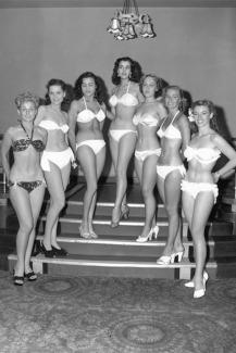 Concursantes de Miss Mundo (1951).
