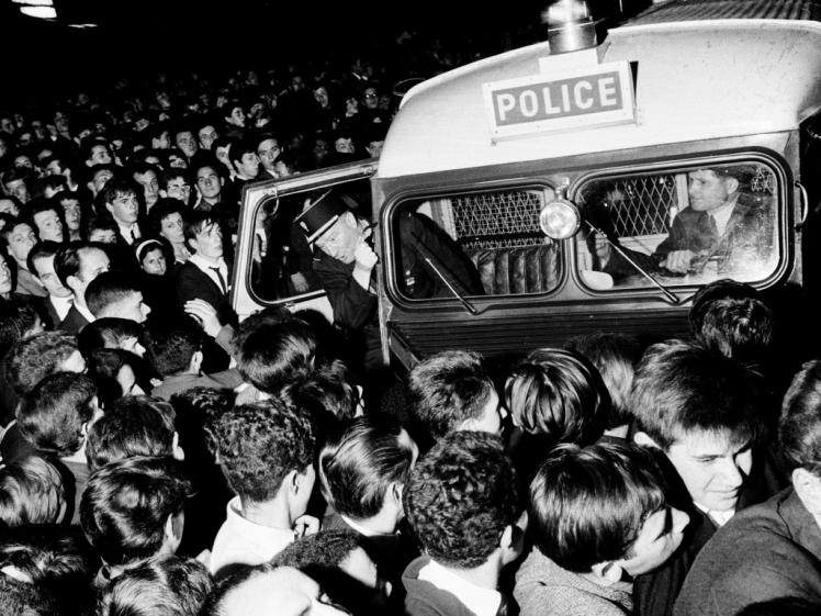 Llegada de la policía