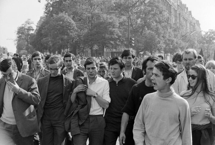 Manifestación de estudiantes el 1 de junio