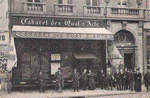 El Cabaret des Quat'z'Arts en 1910.