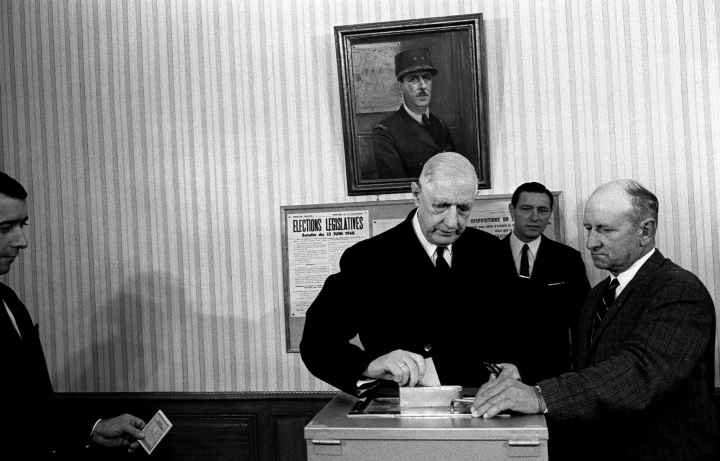 De Gaulle vota el 23