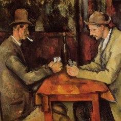 'Los jugadores de cartas' 1