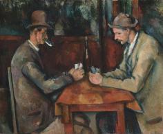 'Los jugadores de cartas' 3