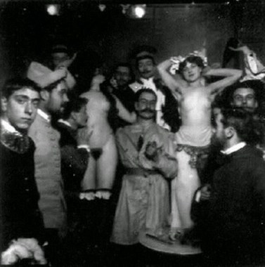 El baile de Quat'z'Arts de 1897.