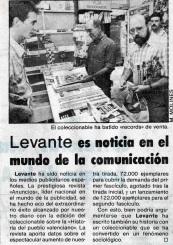'Levante-EMV', 16 de octubre de 1988.