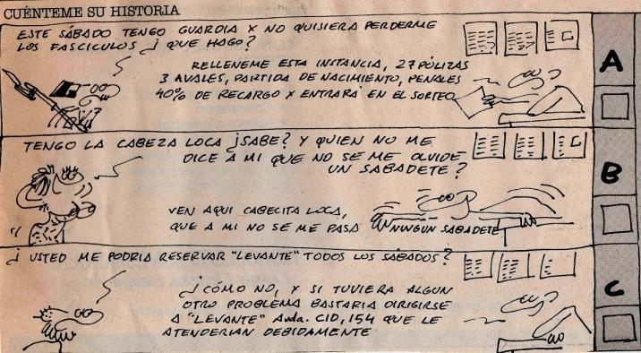 Dos de las diversas viñetas de Ortifus sobre la 'Historia del pueblo valenciano'.