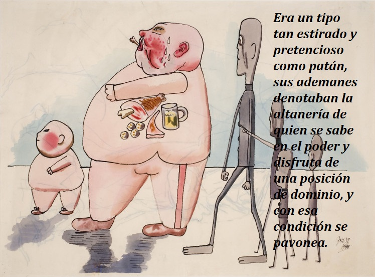 keep-your-timber-limber-george-grosz-stickmen-meeting-members-of-the-bourgeois-1946 - copia
